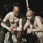 2 Native American men